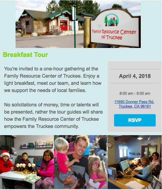 RSVP to April 4 Breakfast Tour